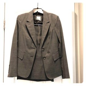 NWT Gray Limited Skirt Suit.